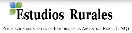 Estudios Rurales UNQ